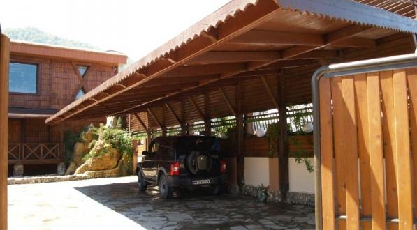 پارکینگ های سرپوشیده چوبی
