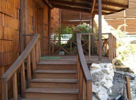 راه پله های چوبی