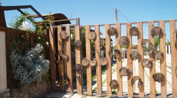 نرده های چوبی